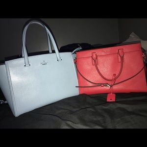 NEW KATE SPADE PURSES AND MATCHING WALLETS